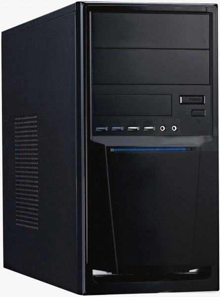 NEXOC PC-System 7271-23 J1900/G210 1GB DDR2/500GB/2048 DDR3/ASR/DVD-RW/Windows 10 Home 64Bit
